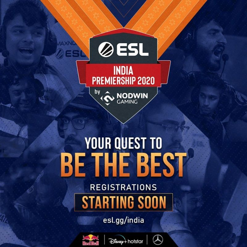 Registeration Process of ESL India Premiership (Source: ESL India FB)