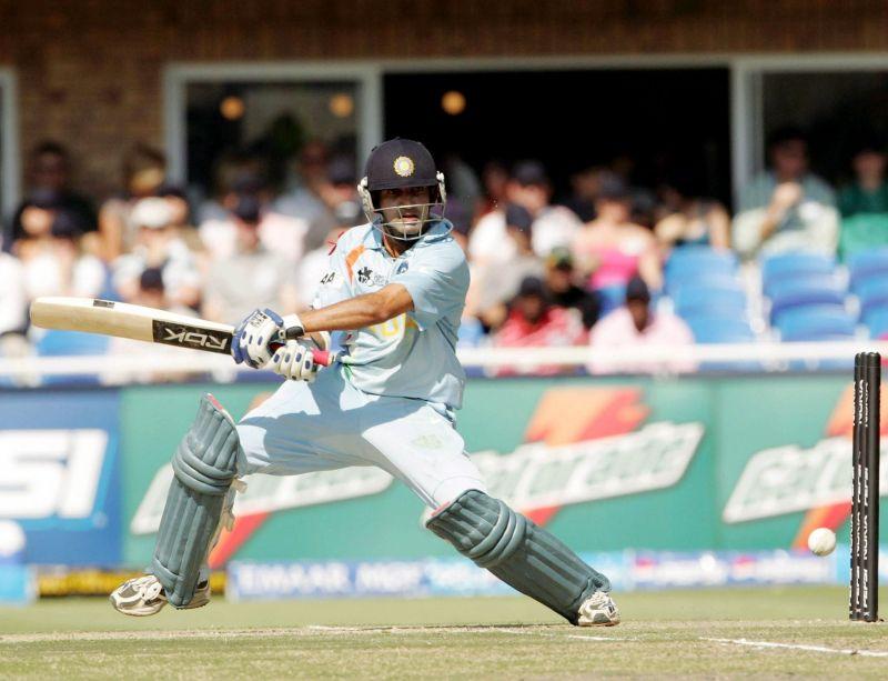 गौतम गंभीर अपनी 75 रनों की पारी के दौरान