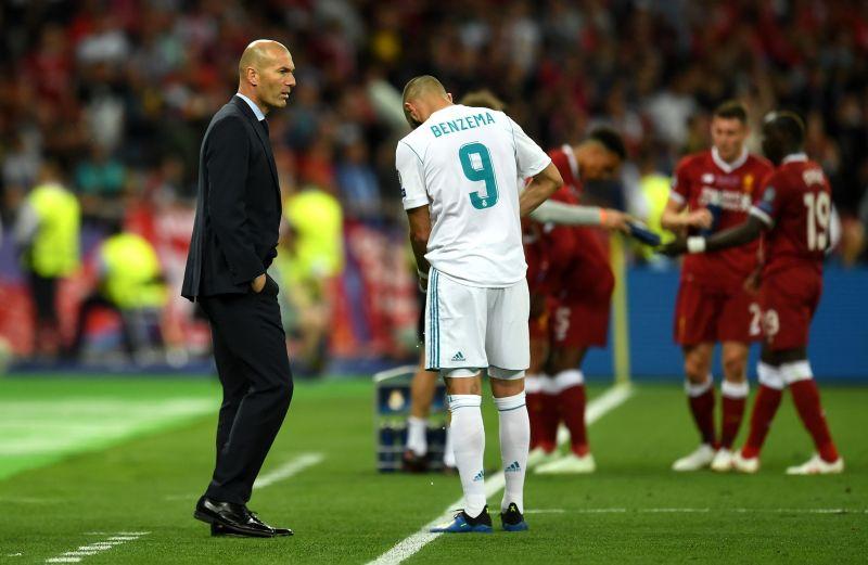 Benzema again had to adapt his style under Zinedine Zidane