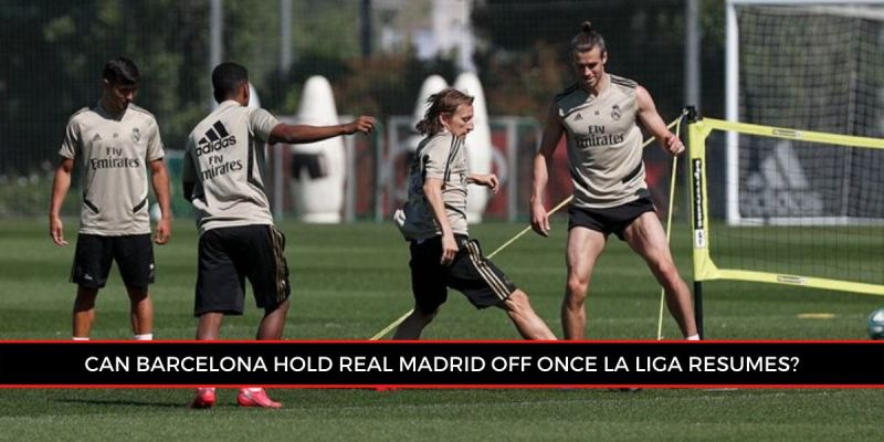 Real Madrid during training