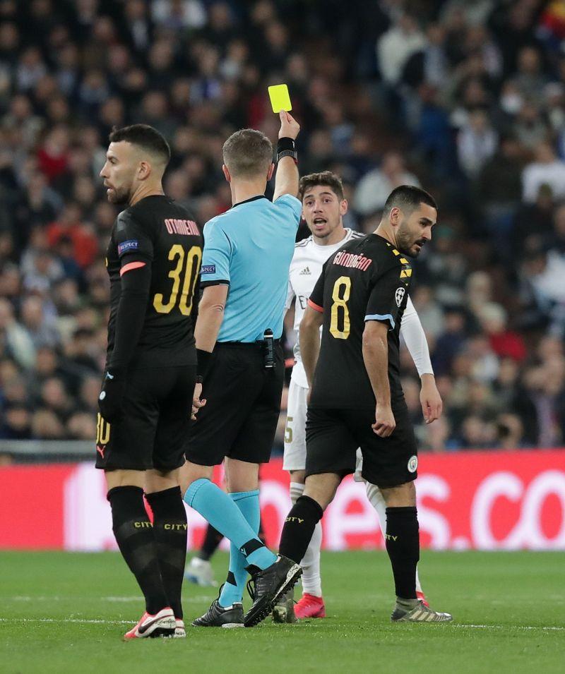 Valverde against Manchester City