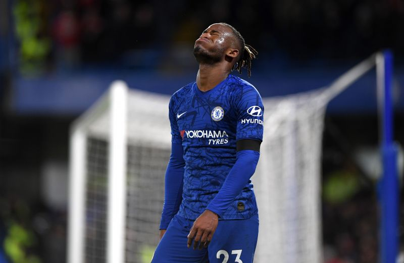 Michy Batshuayi has struggled for traction since joining Chelsea in 2016
