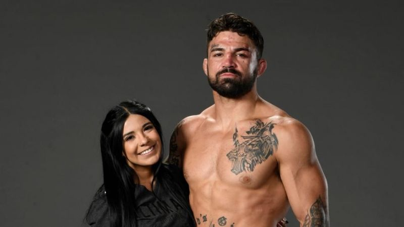 Mike Perry and Latory Gonzalez