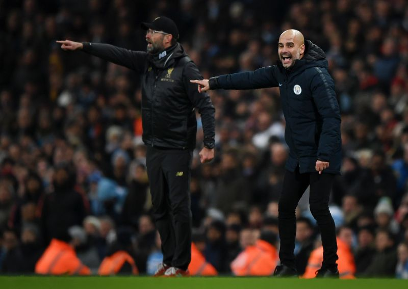 Manchester City host Liverpool FC in the Premier League