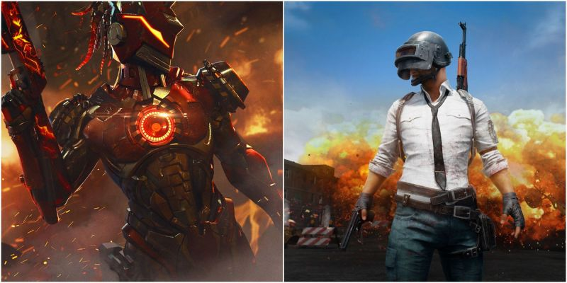 5 games like PUBG Mobile and Free Fire on iOS (Picture Source: ff.garena.com and PUBG Mobile)