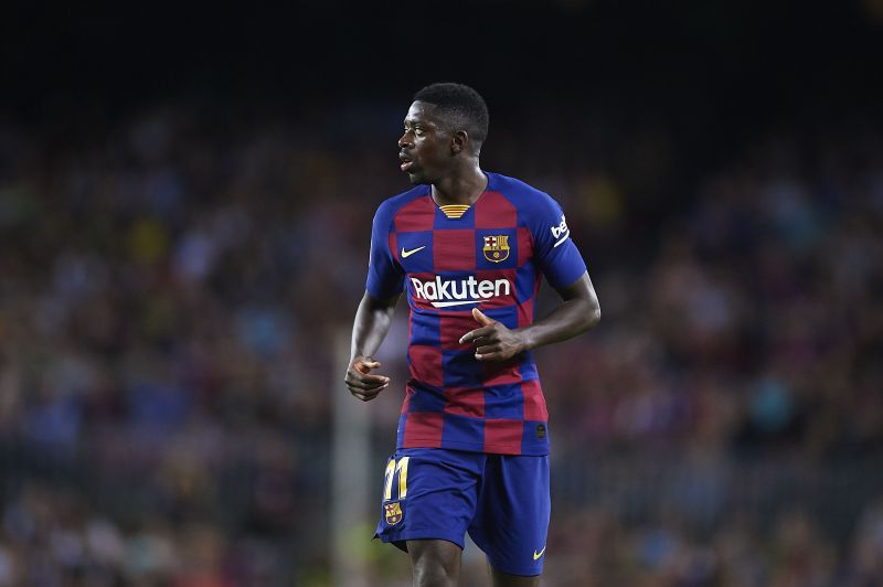 Dembele has never really settled at Barcelona