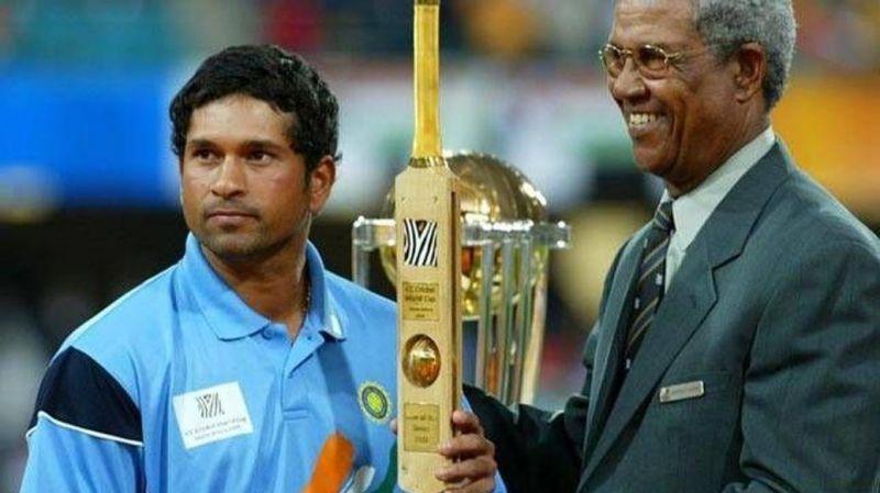 2003 वर्ल्ड कप में सचिन तेंदुलकर मैन ऑफ द टूर्नामेंट चुने गए थे
