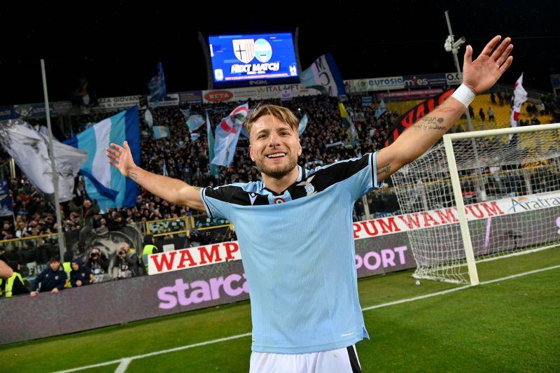 Ciro Immobile est en tête du classement des buteurs en Serie A cette saison | Ballon d