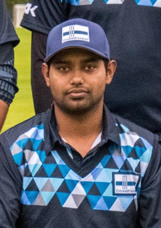 Tonmoy Saha (Image credits: cricketfinland.com)