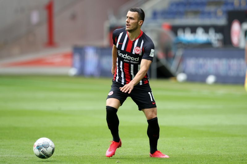 Filip Kostic scored three goals and provided 11 assists as Frankfurt finished 9th in the Bundesliga.
