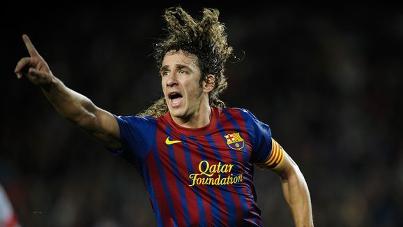 Legendary defender Carles Puyol held Barcelona