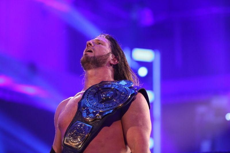 WWE इंटरकॉन्टिनेंटल चैंपियन एजे स्टाइल्स