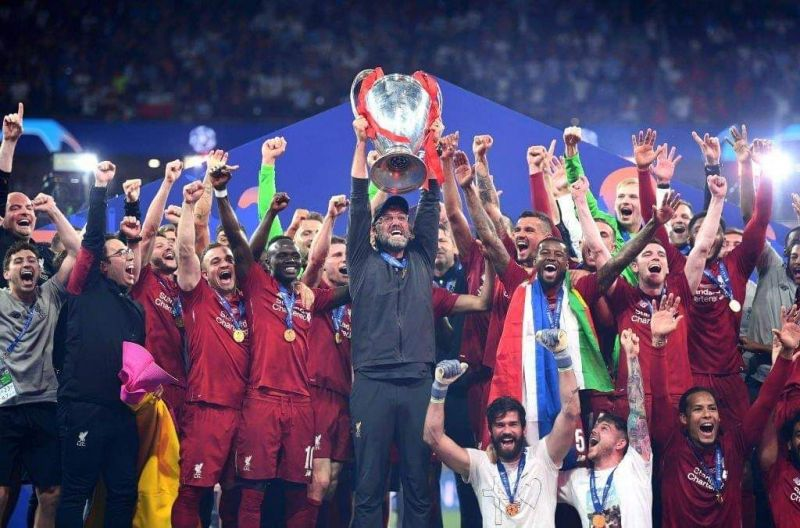 Liverpool won the Champions League in 2018-19.