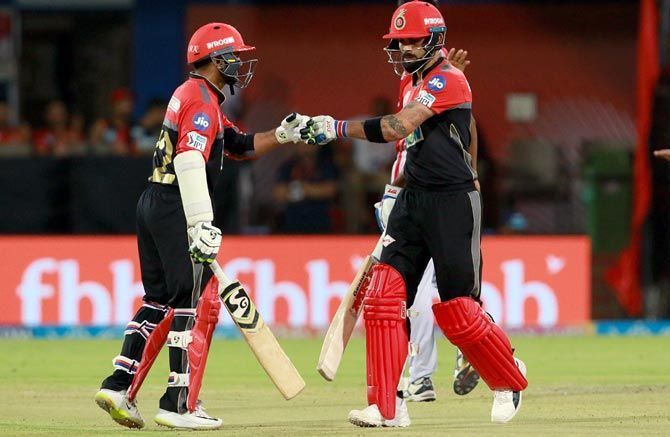 Virat Kohli and Parthiv Patel have opened the batting for RCB in the last couple of years