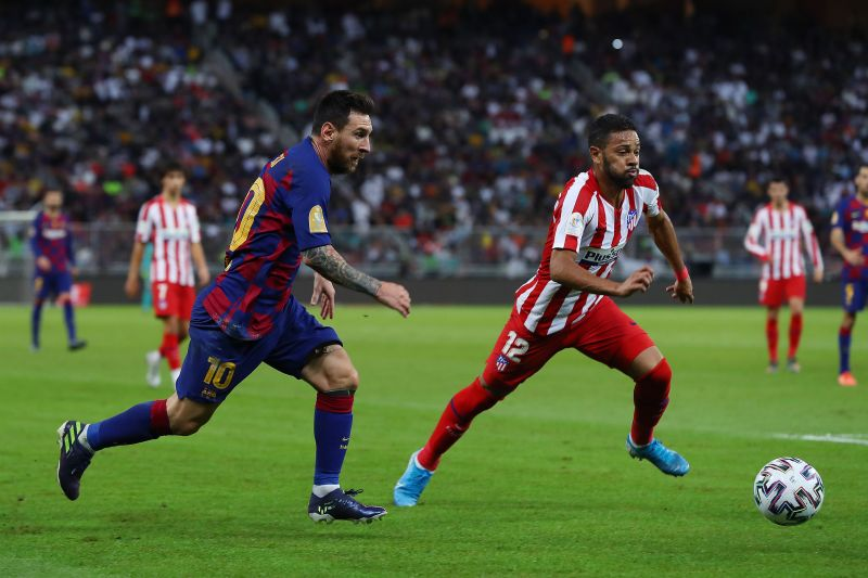 Lionel Messi will look to get on the scoresheet against Atletico Madrid