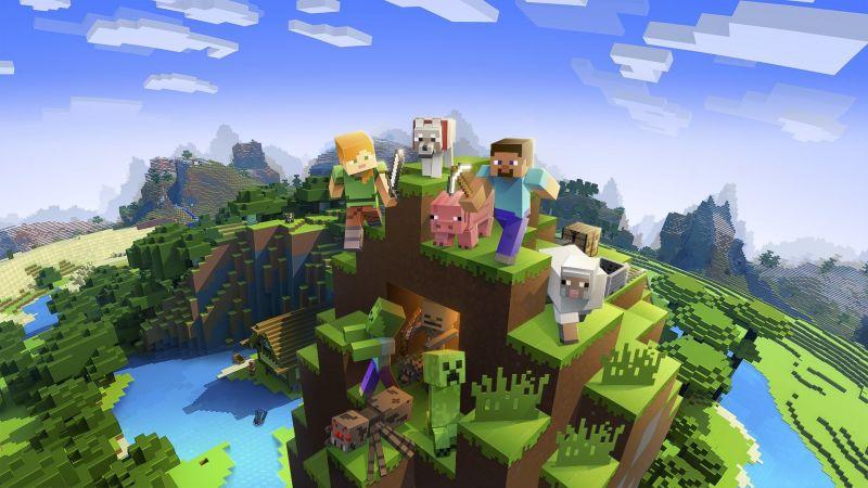 Minecraft on Microsoft Store