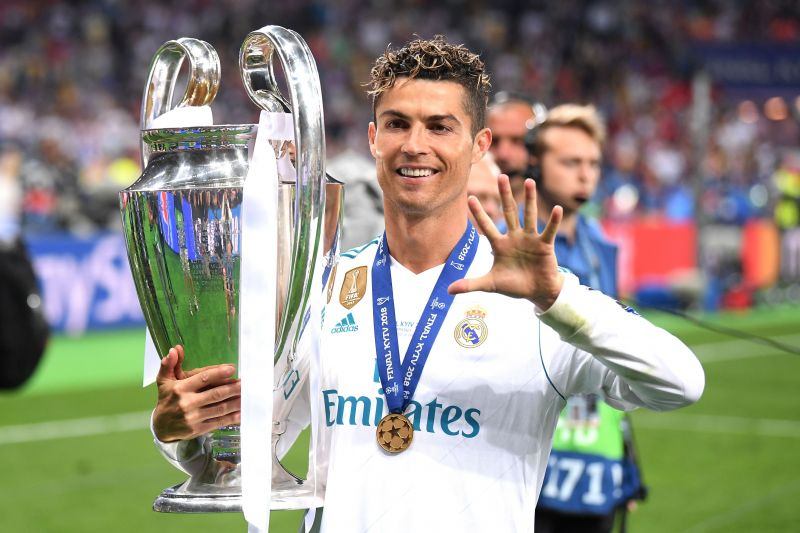 Ronaldo holds the record for the most goals in a UCL campaign with 17