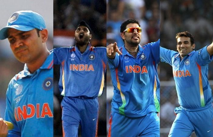 Virender Sehwag and Yuvraj Singh were among a host of youngsters backed by Sourav Ganguly