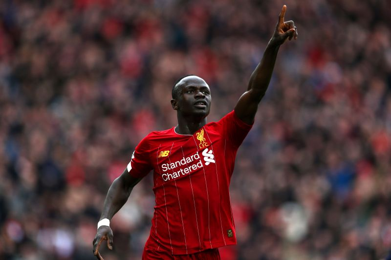 Sadio Mane needs another 8 goals to match last season