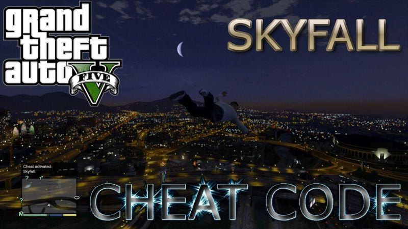 Skyfall cheat in GTA 5 (Image: YouTube)