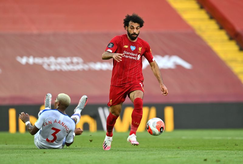 Mohamed Salah was in blistering form against Crystal Palace