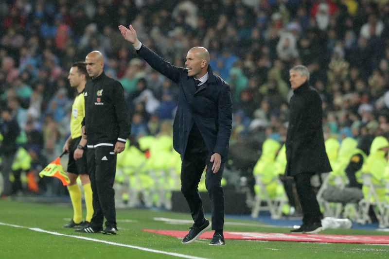 Zidane was one of the most successful coaches of the last decade
