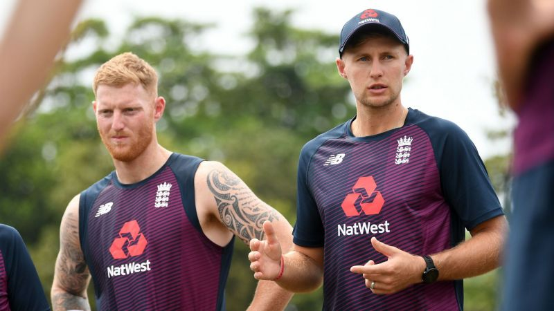 Ben Stokes and Joe Root - cropped