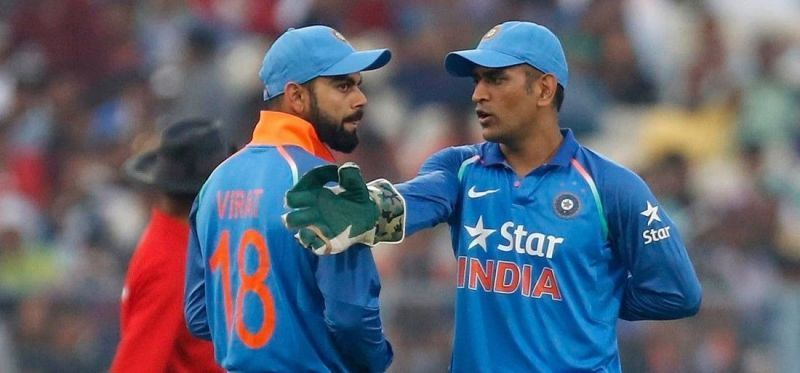 MS Dhoni has been a guiding force for Virat Kohli since giving up captaincy