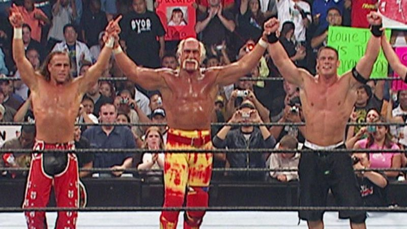 John Cena and Hulk Hogan almost faced each other in WWE