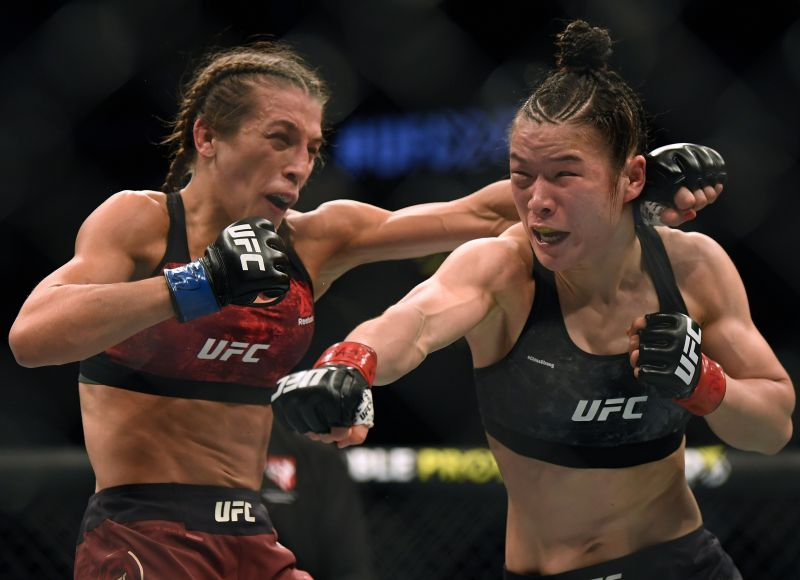 The fight between Weili Zhang and Joanna Jedrzejczyk is simply the best women