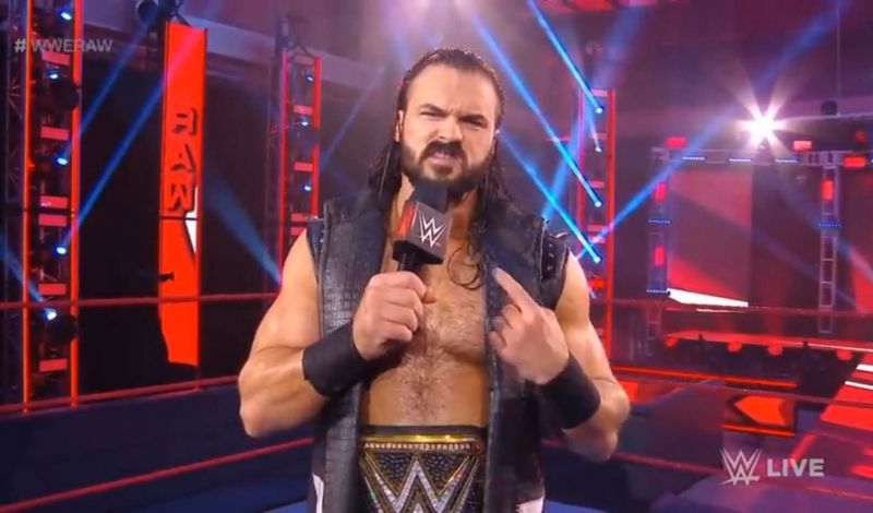 Drew McIntyre won the WWE Championship at WrestleMania