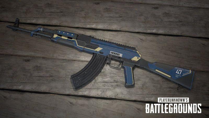 PUBG Mobile Assault Rifle AKM, image via Twitter