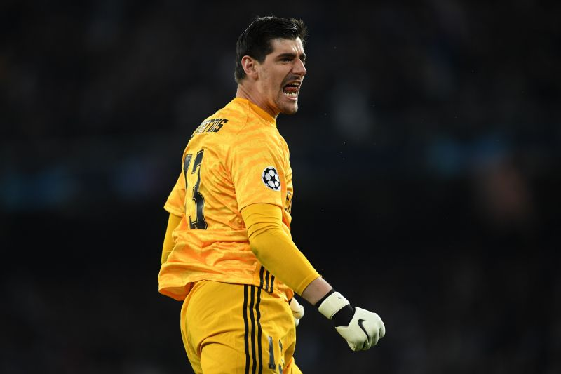 Courtois has also been a gargantuan figure for Real Madrid