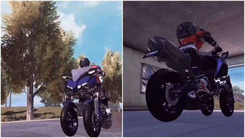 In-Game bike skin