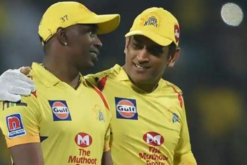 Dwayne Bravo and MS Dhoni have been teammates for a long time now