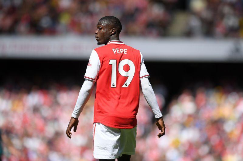 Nicolas Pepe during Arsenal
