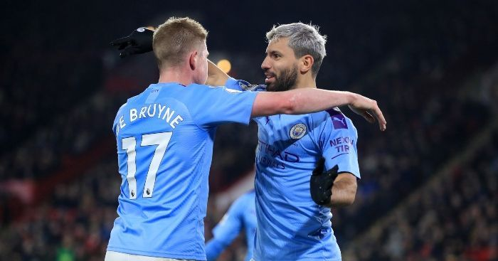 De Bruyne(L) and Aguero(R) will be top picks for Gameweek 30+