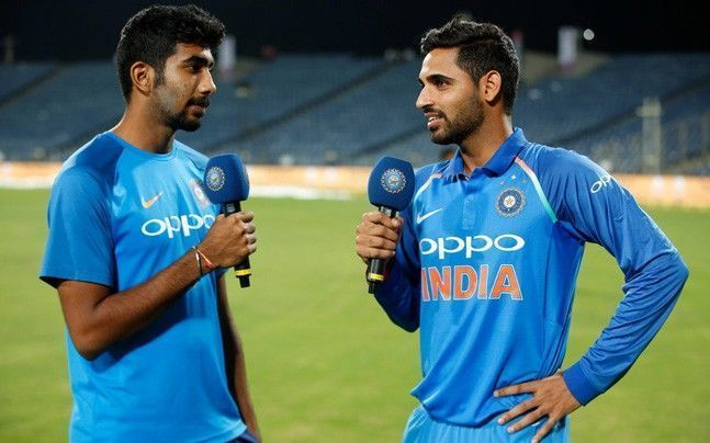 Jasprit Bumrah and Bhuvneshwar Kumar are the 2 Indian pacers in Aakash Chopra
