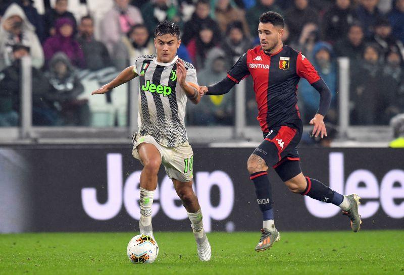 Juventus face Genoa on Wednesday