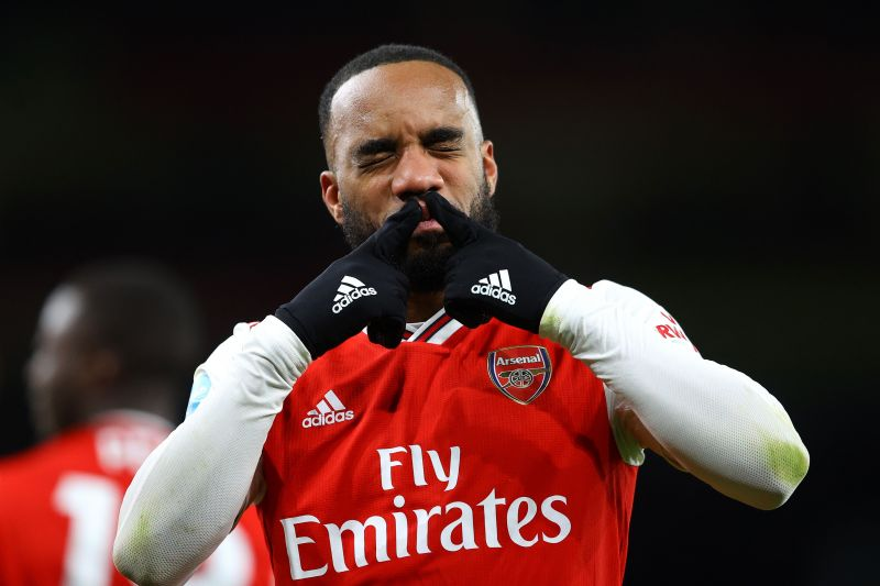 Alexandre Lacazette has lost his place in Arsenal