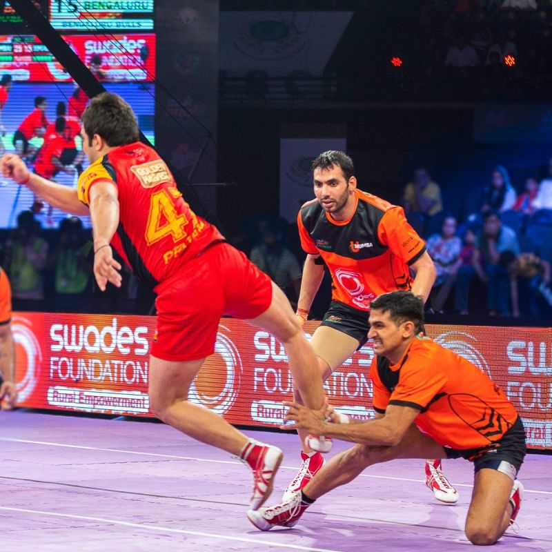 Surender Nada is known in the Kabaddi world for his lethal ankle holds