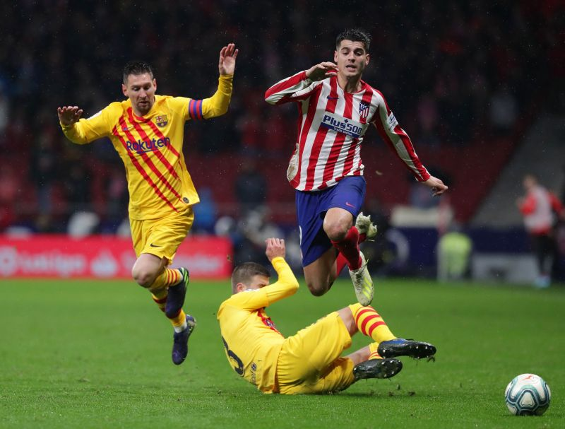 The two clubs last met in January for the Spanish Super Cup