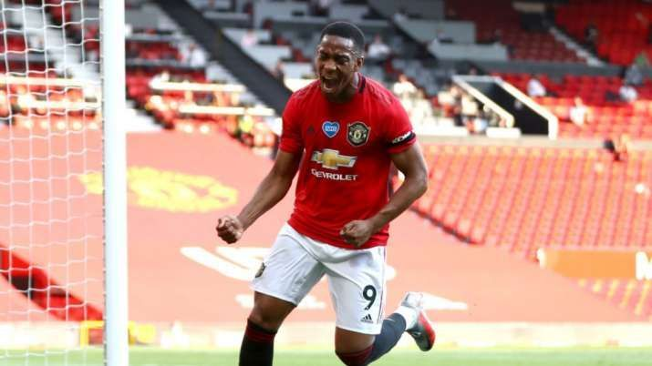 Anthony Martial led the charge for Manchester United against EPL side Sheffield United with a hat-trick