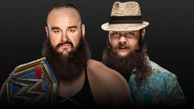 Bray Wyatt versus Braun Strowman at Extreme Rules. Who wins?