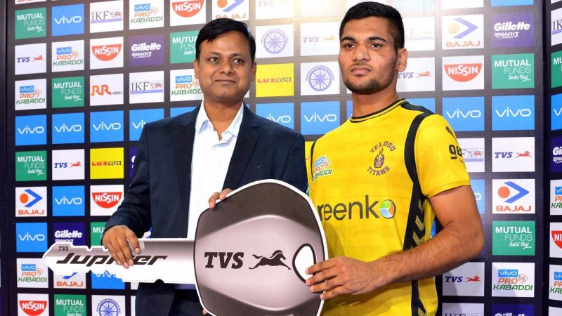 Sombir Gulia made an impression for the Telugu Titans in his debut PKL season