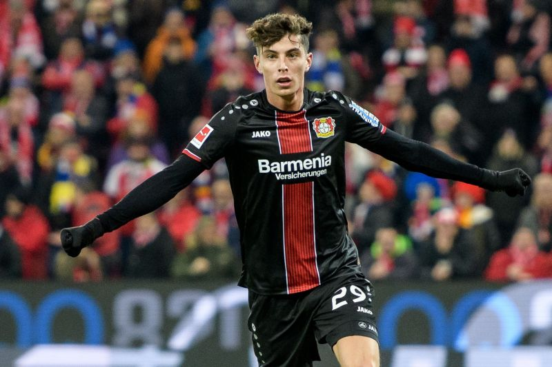 Kai Havertz was praised by Liverpool manager Jurgen Klopp recently