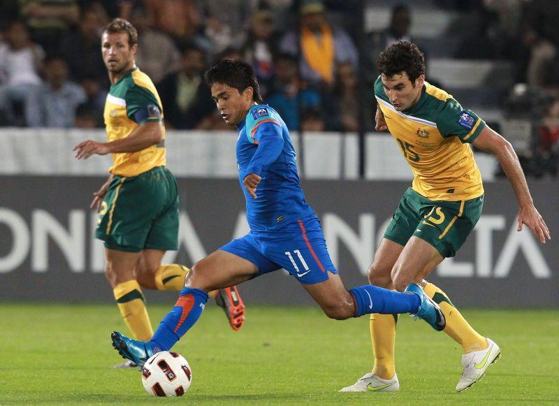 Bhaichung Bhutia has seen Sunil Chhetri grow into the current face of Indian football.