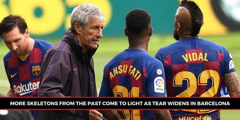 Barcelona are struggling