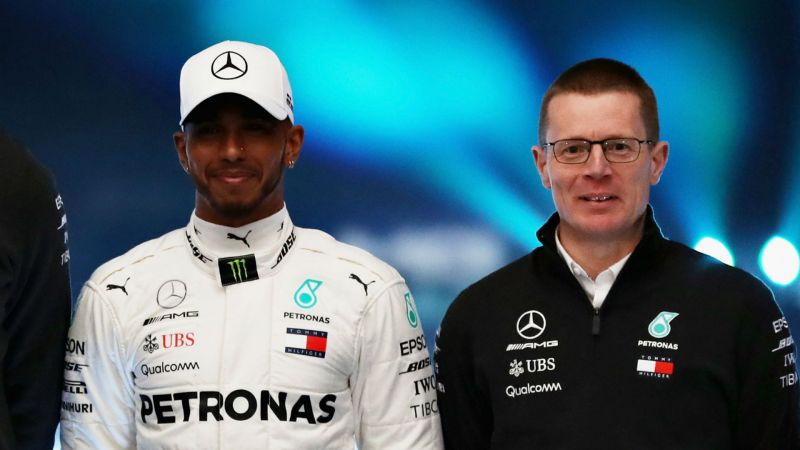 Lewis Hamilton and Andy Cowell - cropped