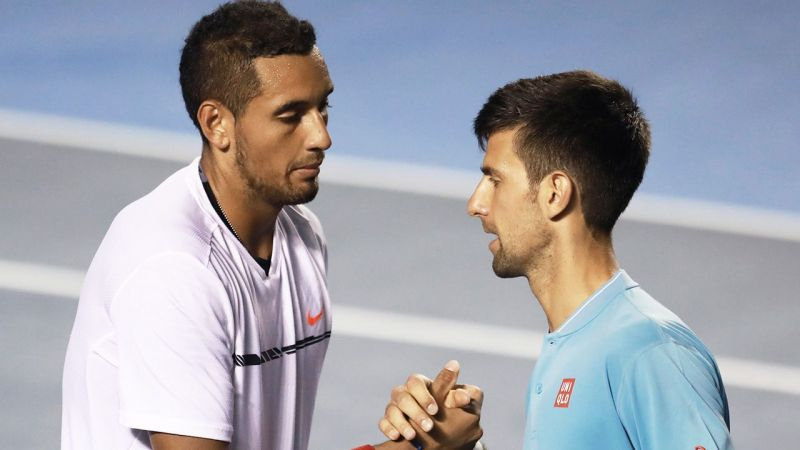 Nick Kyrgios has always had things to say about Novak Djokovic